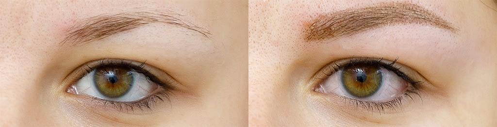 Permanent Make-up per Roberta - Prima e dopo
